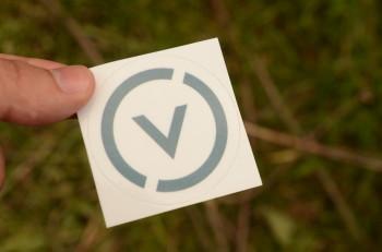 Стикер с логотипом Проект Венера