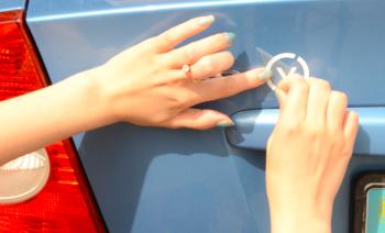 Пример использования переснимачки на авто